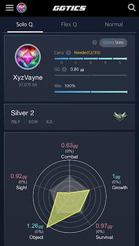 YOUR.GGtics - League Of Legends Amazing Stats APK screenshot 1