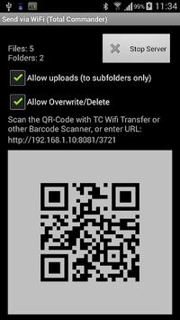 WiFi/WLAN Plugin for Totalcmd APK screenshot 1