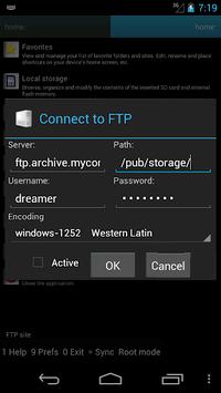 Ghost Commander File Manager APK screenshot 1