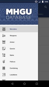 MHGU Database APK screenshot 1
