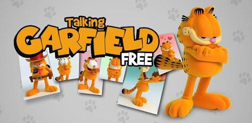 Talking Garfield pc screenshot