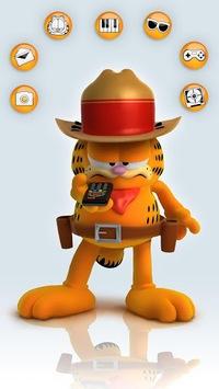 Talking Garfield APK screenshot 1