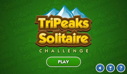 TriPeaks Solitaire Challenge APK screenshot 1