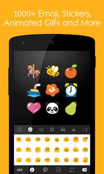 Ginger Keyboard - Emoji, GIFs, Themes & Games APK screenshot 1