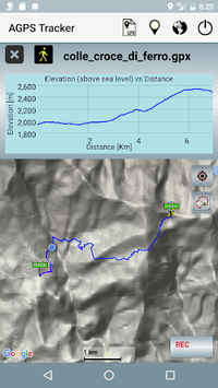 A-GPS Tracker APK screenshot 1