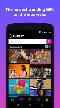 GIPHY - Animated GIFs Search Engine APK screenshot 1