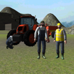 Farming 3D: Tractor Driving icon