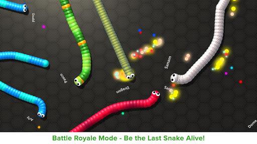 Slithering Snake.io APK screenshot 1