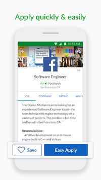 Glassdoor Job Search, Salaries & Reviews APK screenshot 1