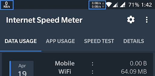 Internet Speed Meter pc screenshot