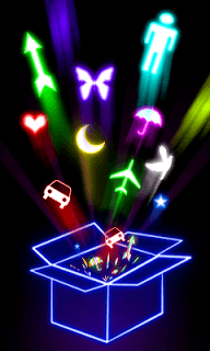 Glow Draw APK screenshot 1
