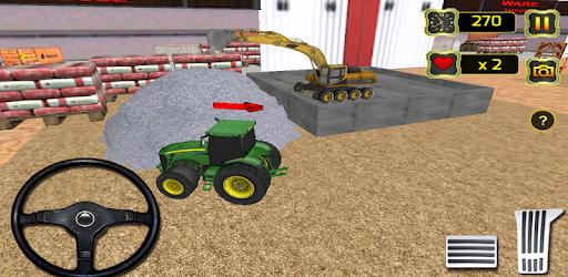 Concrete Excavator Tractor Sim pc screenshot