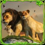 Furious Lion Family Sim icon
