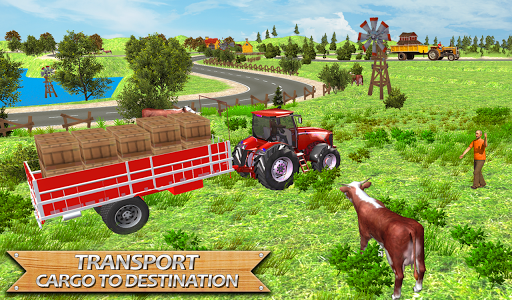 Real Tractor Drive Simulator 2018 APK screenshot 1