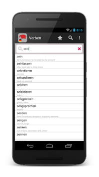 14000 German verbs APK screenshot 1
