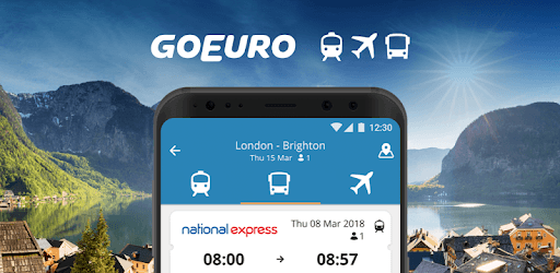 GoEuro: Trains, buses, flights pc screenshot
