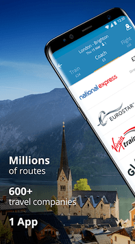 GoEuro: Trains, buses, flights APK screenshot 1