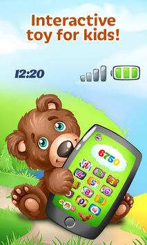 Baby Phone for Toddlers: Kids Fun Educational Game APK screenshot 1