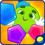 Learning shapes and colors for toddlers: kids game icon