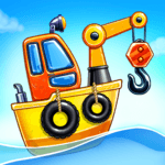 Game Island. Kids Games for Boys. Build House icon