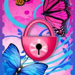 Butterflies Theme GO Locker FOR PC