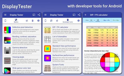 Display Tester APK screenshot 1