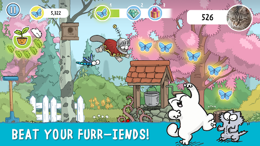 Simon's Cat Dash APK screenshot 1