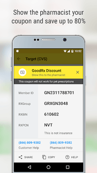 GoodRx Drug Prices and Coupons APK screenshot 1