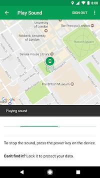 Google Find My Device APK screenshot 1