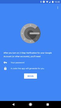 Google Authenticator APK screenshot 1