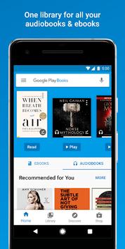 Google Play Books - Ebooks, Audiobooks, and Comics APK screenshot 1
