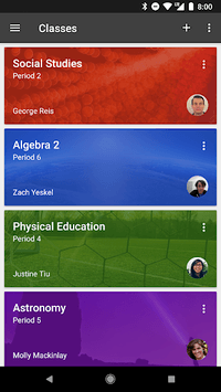 Google Classroom APK screenshot 1