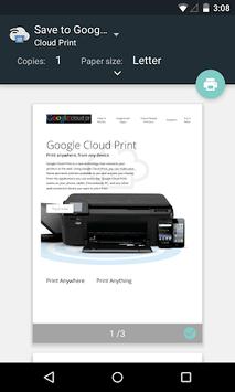 Cloud Print APK screenshot 1