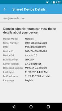 Google Apps Device Policy APK screenshot 1