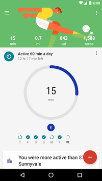 Google Fit: Health and Activity Tracking APK screenshot 1
