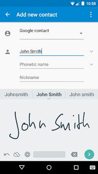 Google Handwriting Input APK screenshot 1