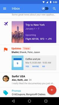 Inbox by Gmail APK screenshot 1