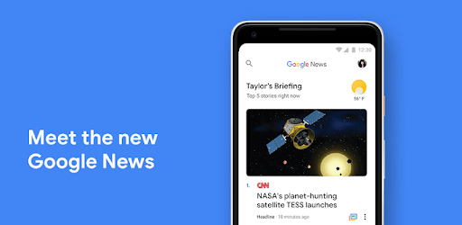 Google News pc screenshot