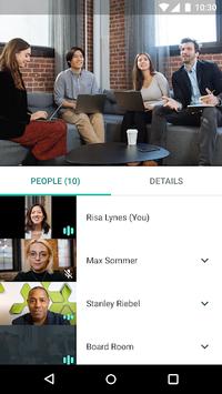 Hangouts Meet APK screenshot 1