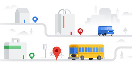 Navigation for Google Maps Go pc screenshot