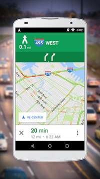 Navigation for Google Maps Go APK screenshot 1