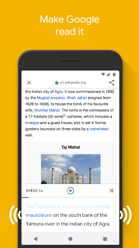 Google Go: A lighter, faster way to search APK screenshot 1