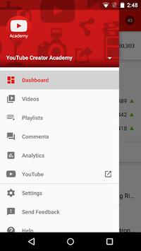 YouTube Studio APK screenshot 1