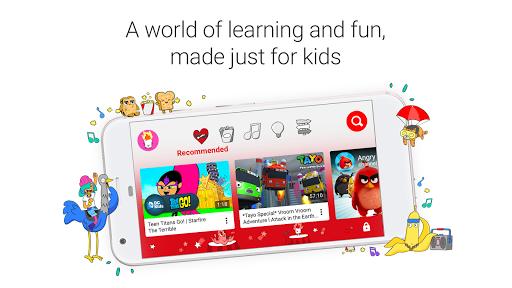 YouTube Kids APK screenshot 1