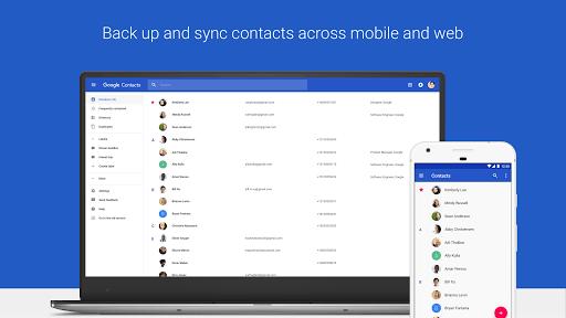 Contacts APK screenshot 1