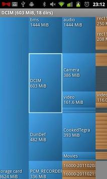 DiskUsage APK screenshot 1