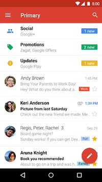 Gmail APK screenshot 1