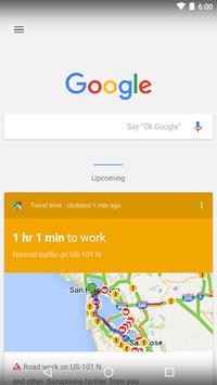 Google Now Launcher APK screenshot 1