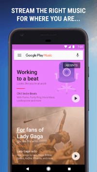 Google Play Music APK screenshot 1