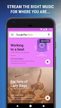 google play music screen 1
